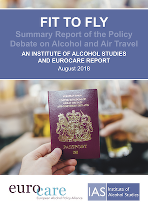 Fit to fly: Summary report of the policy debate on alcohol and air travel