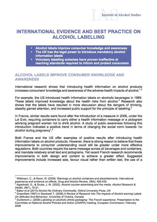 Research paper on alcoholism