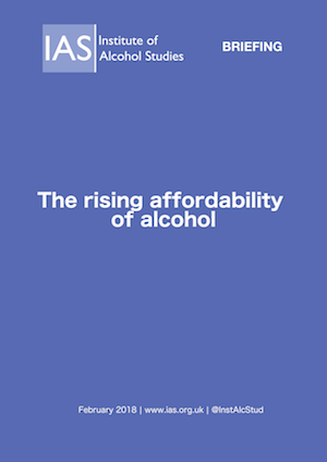 The rising affordability of alcohol