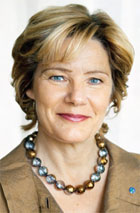 Maria Larsson, Swedish Minister for Elderly Care and Public Health - maria-larsson