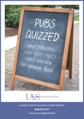 Pubs quizzed: What publicans think about policy, public health and the changing trade