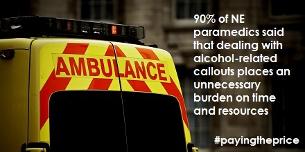 Report reveals burden alcohol places on North East ambulance staff
