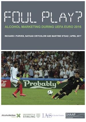 Foul play? Alcohol marketing during UEFA Euro 2016