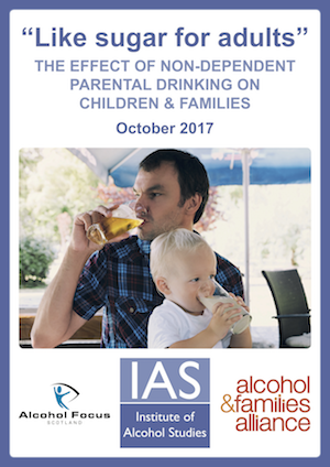'Like sugar for adults' report highlights anxiety about parents' drinking