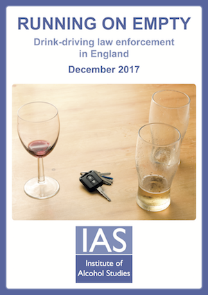 Drink drive risk as breath tests fall by 25%