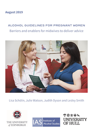 Alcohol guidelines for pregnant women: Barriers and enablers for midwives to deliver advice