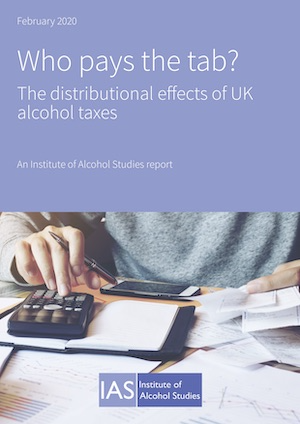 Alcohol duty doesn't penalise the poor, new research shows