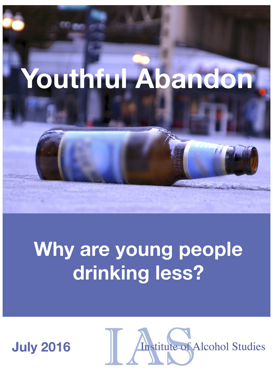 Youthful abandon: Why are young people drinking less?