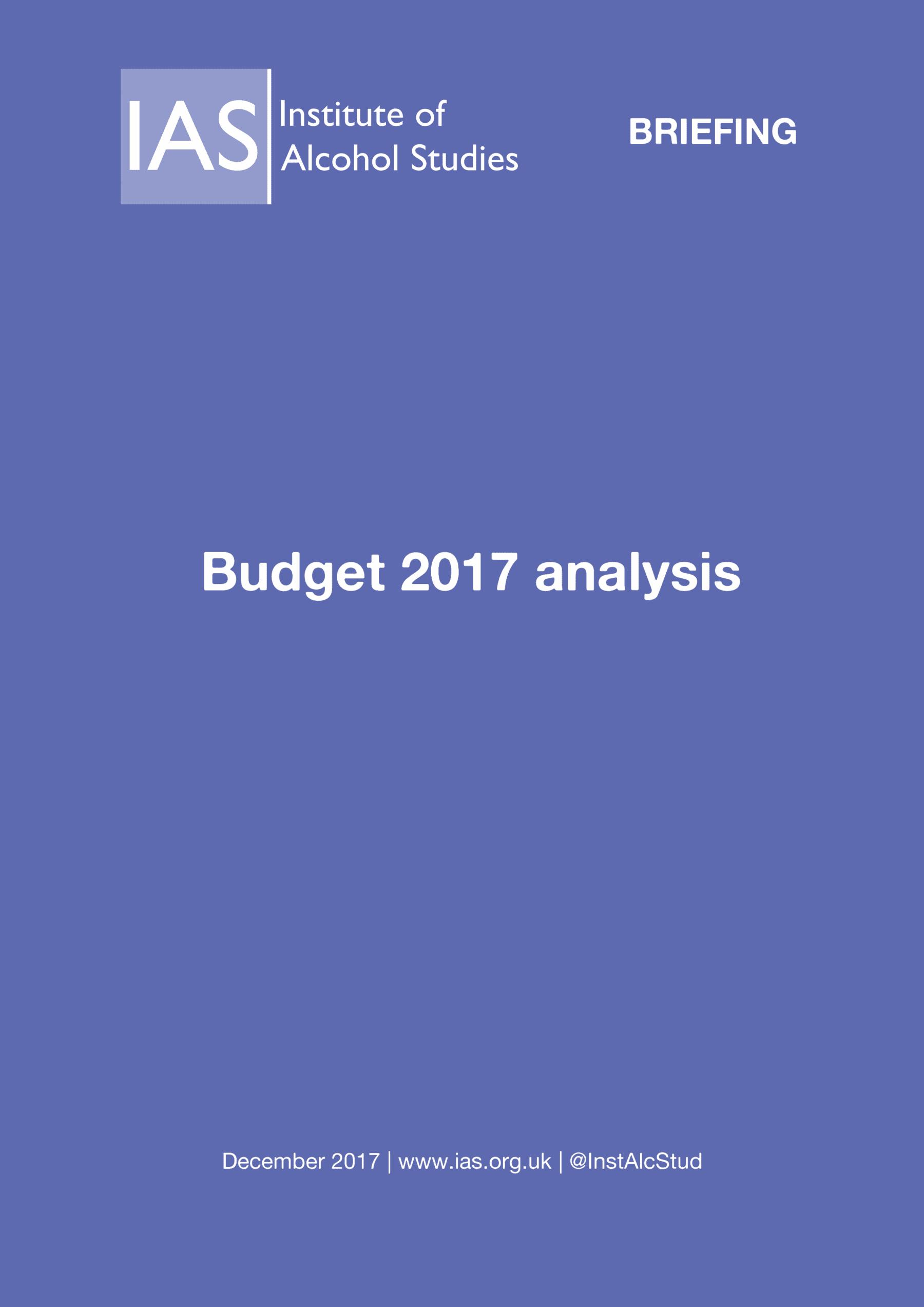 IAS Budget 2017 analysis