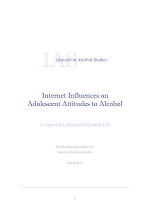 Internet influences on adolescent attitudes to alcohol