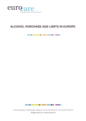 Alcohol purchase age limits in Europe