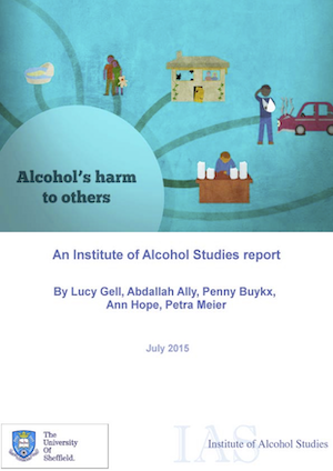 Alcohol's harm to others