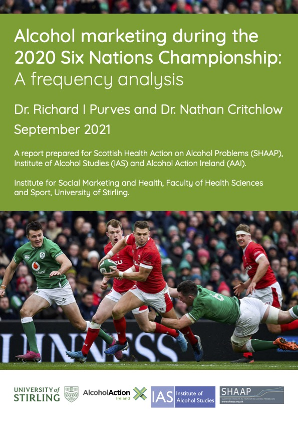 Alcohol marketing during the 2020 Six Nations Championship: A frequency analysis